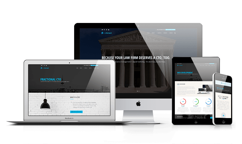 OneDemand Law Firm Website Design