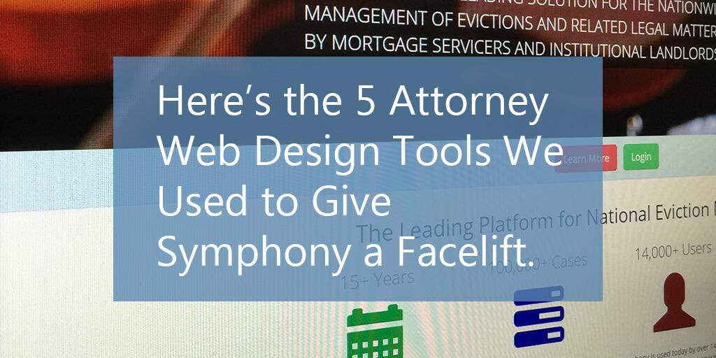 Symphony Attorney Website Design Tools OneDemand