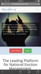 Symphony Attorney Mobile Website Design OneDemand