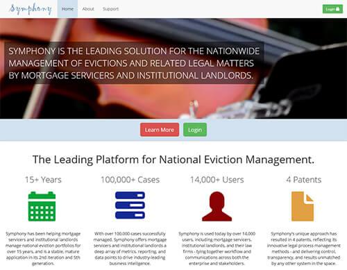 Symphony Attorney Website Design OneDemand