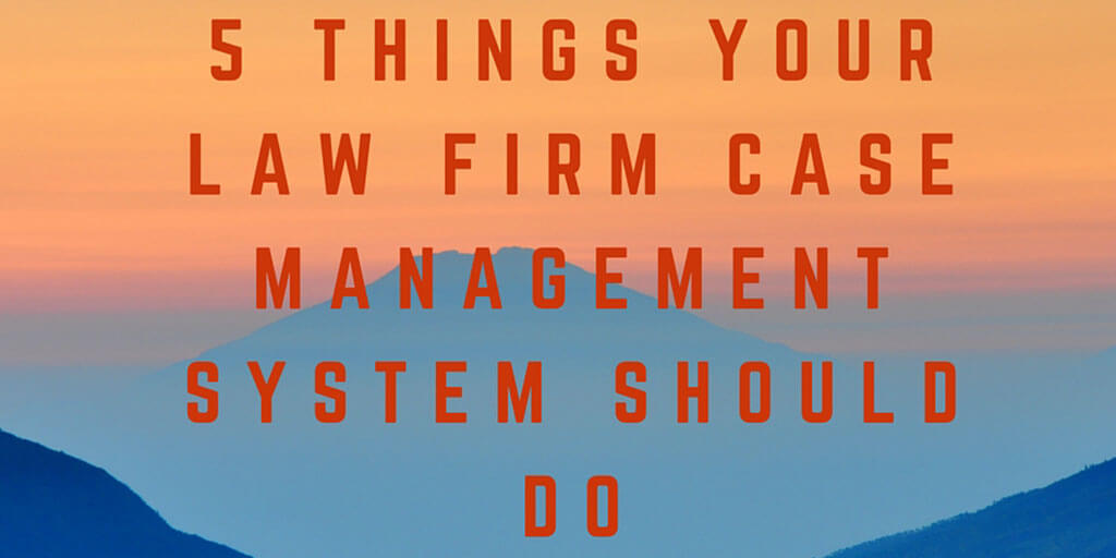 Law Firm Case Management System Twitter