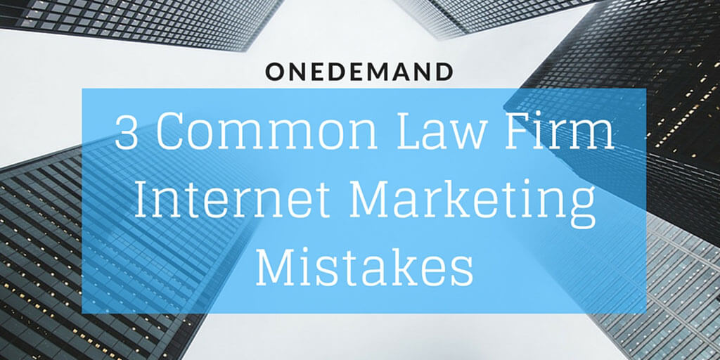 3 Mistakes Law Firm Internet Marketing Twitter