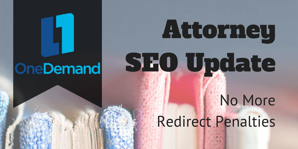Attorney SEO No Redirect Penalties