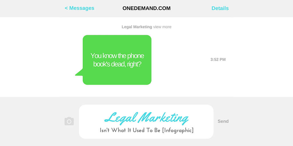 Lawyer Marketing Changed